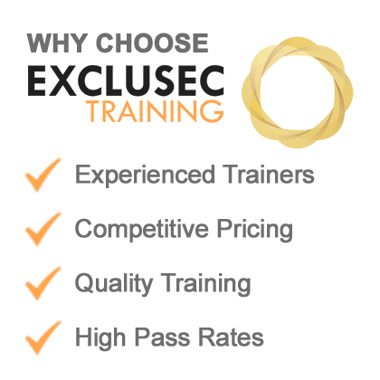 Choose Exclusec Training Solutions