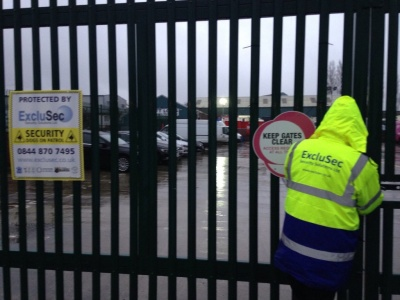 Security Services in Manchester, Bolton and Warrington