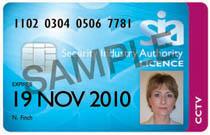 Sample CCTV License