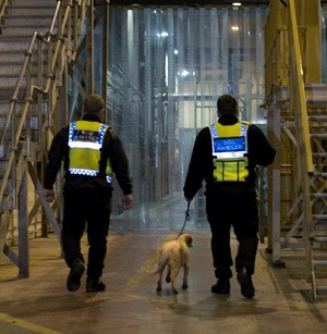 Security Dog Handlers